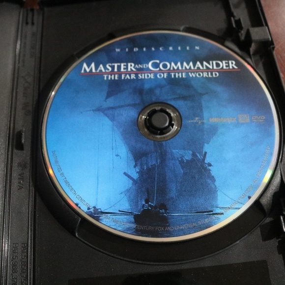 Masters and Commander DVD Blank Case